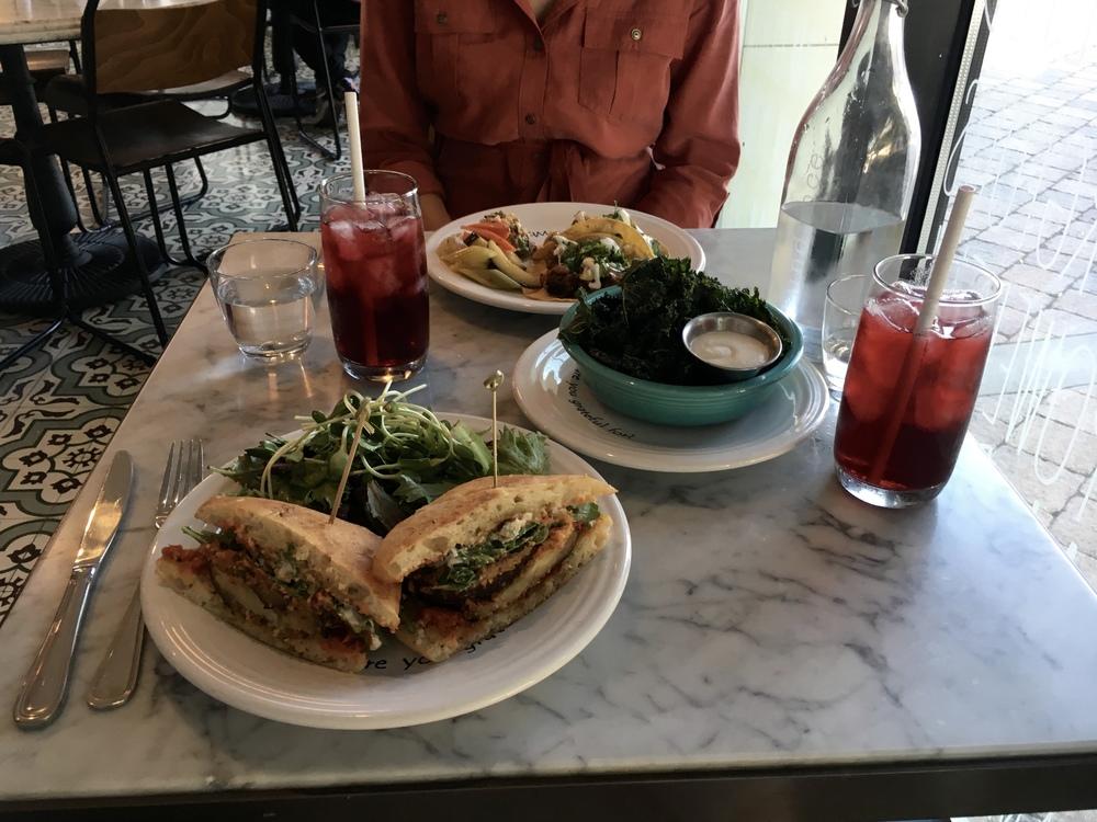 Samantha McNeil Blog Cafe Gratitude