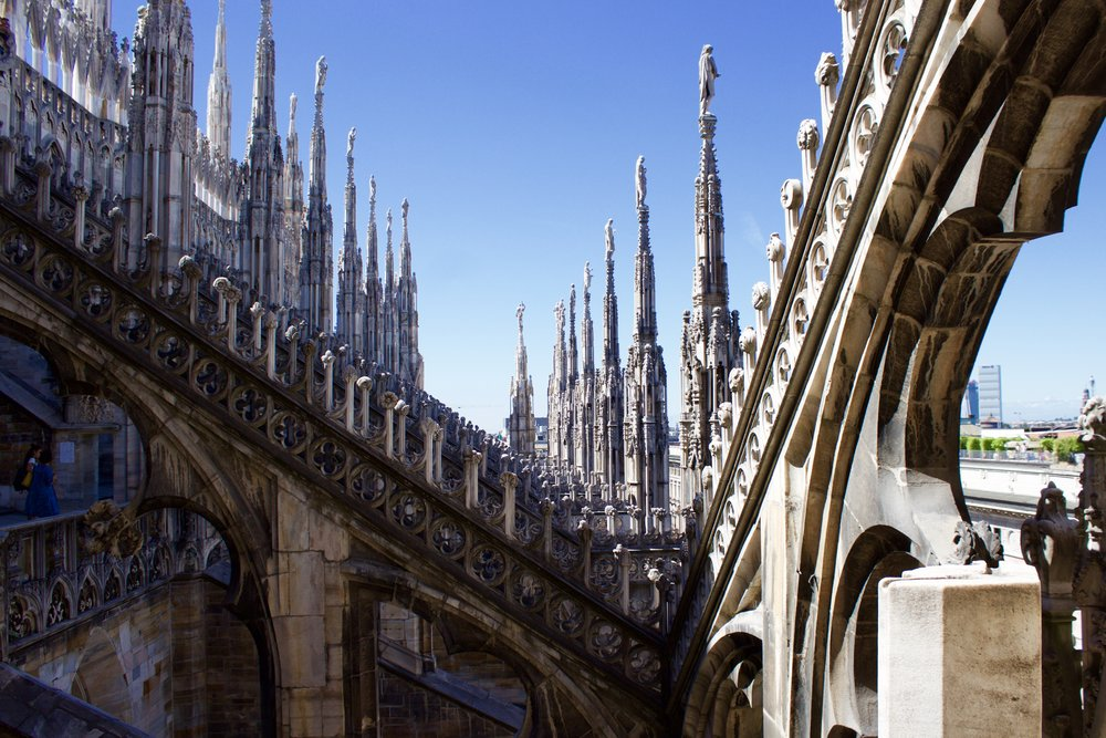 Samantha McNeil Blog Terrace of the Duomo Milano