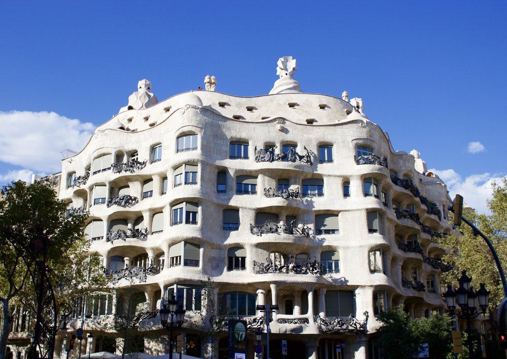 Samantha McNeil Blog Casa Mila Barcelona