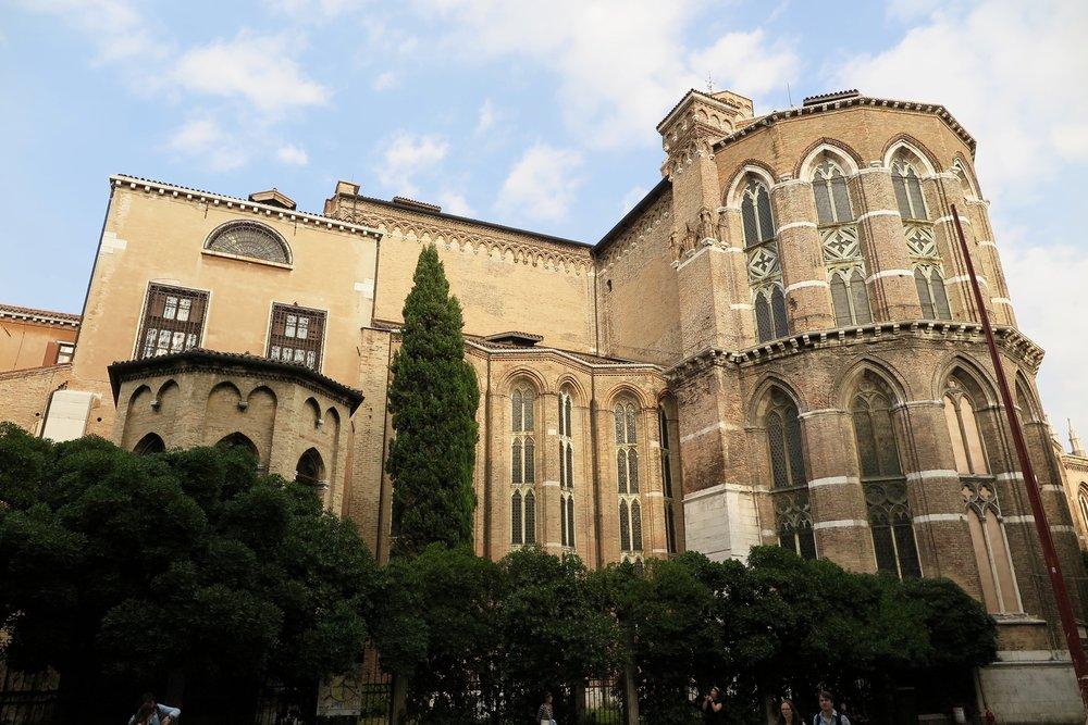 Santa Maria Gloriosa dei Frari, Venice, Italy, Samantha McNeil
