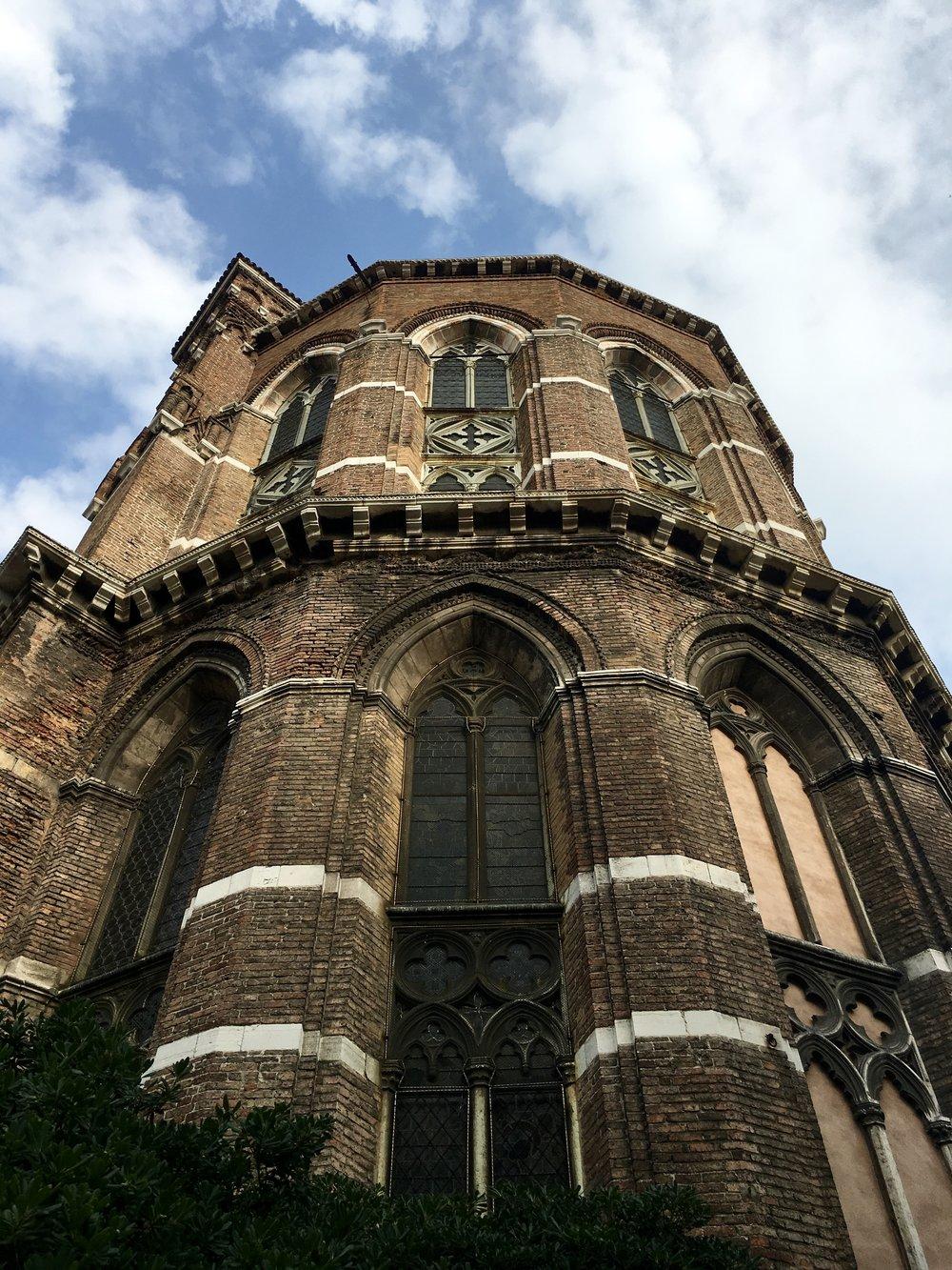 Basilica Dei Frari, Venice, Italy, Samantha McNeil