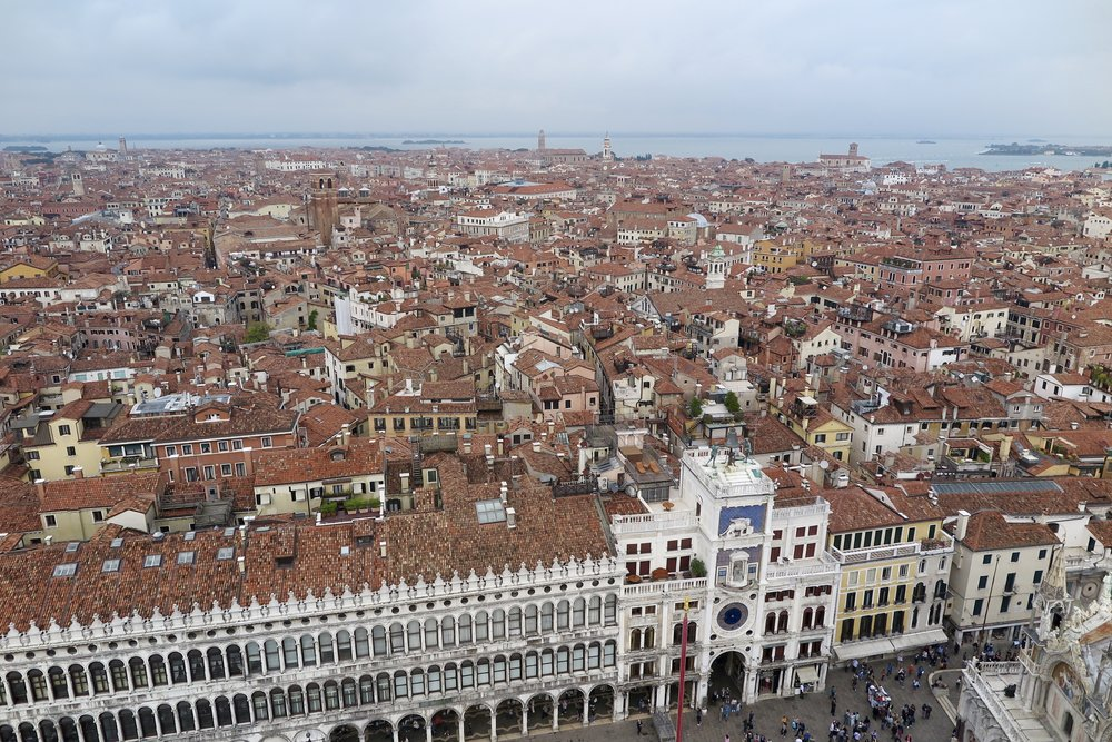 View from the Bell Tower, Venice, Italy, Samantha McNeil