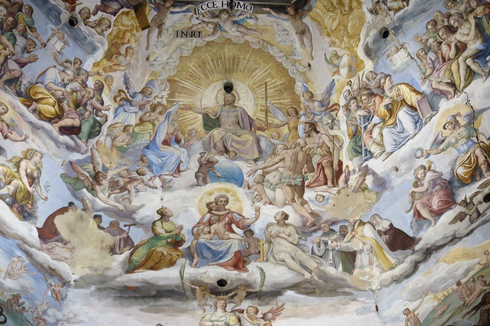 Samantha McNeil Blog - Ceiling of the Florence Duomo