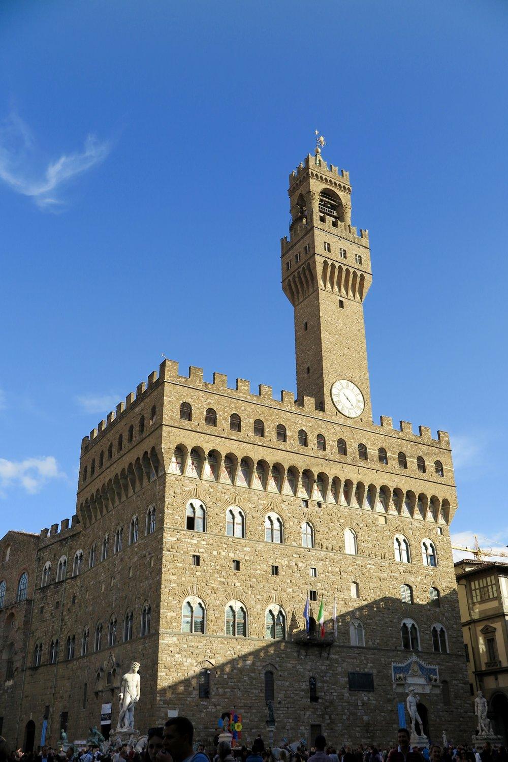 Samantha McNeil Blog - Palazzo Vecchio Florence