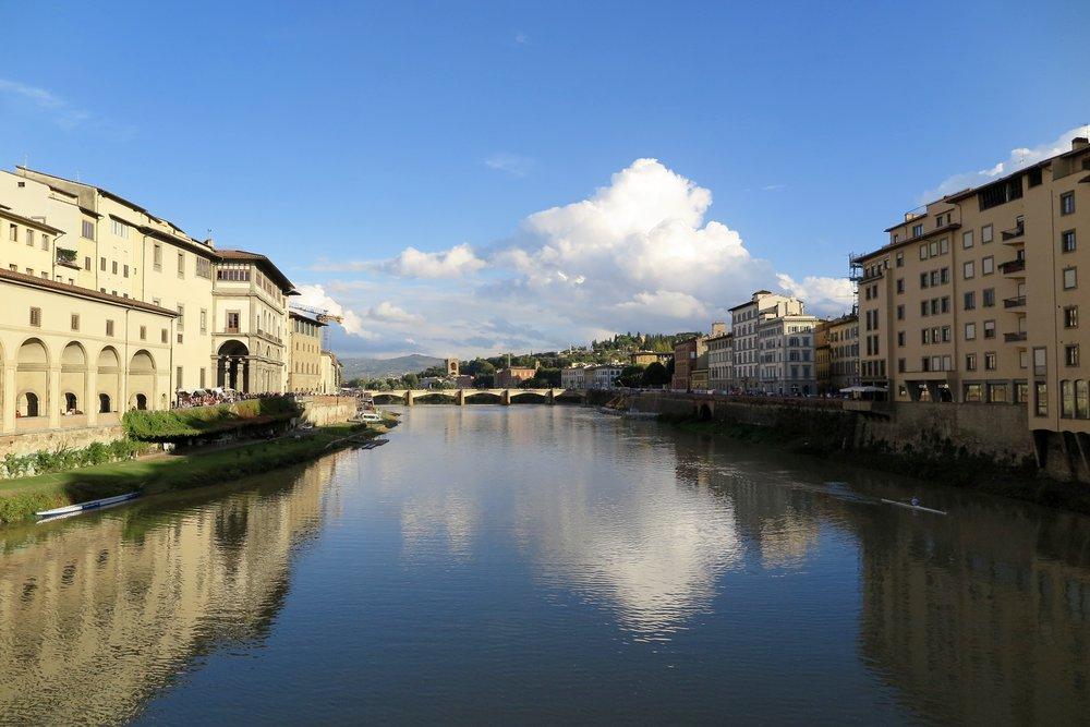 Samantha McNeil Blog - Arno River Florence
