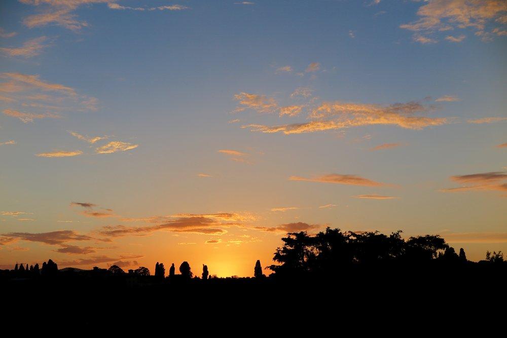 Samantha McNeil Blog - Tuscan Sunset in Florence