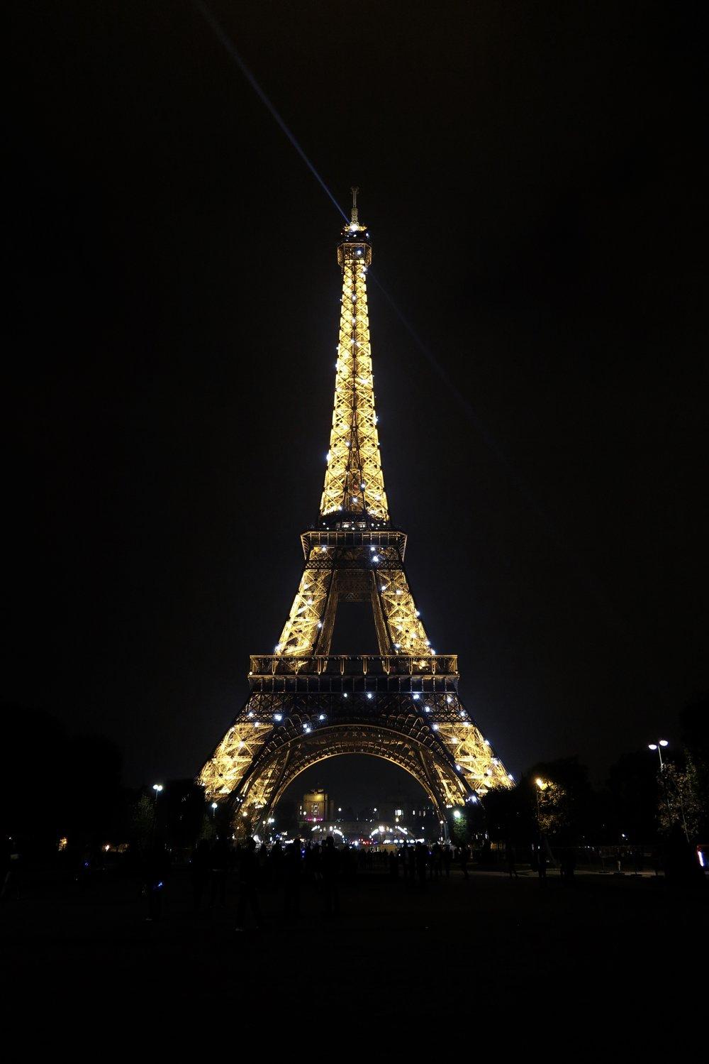Samantha McNeil Blog - Paris Nuit Un