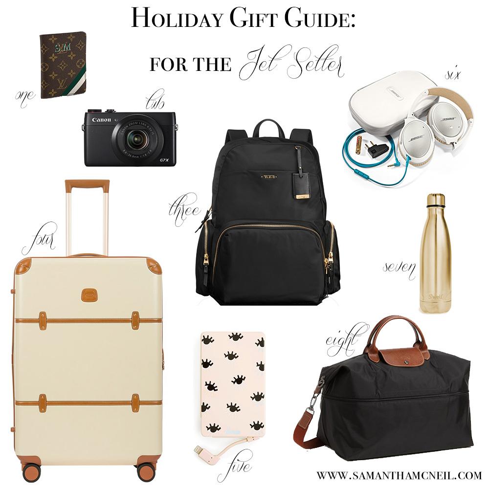 Samantha McNeil Blog - Holiday Gift Guide For The Jet Setter