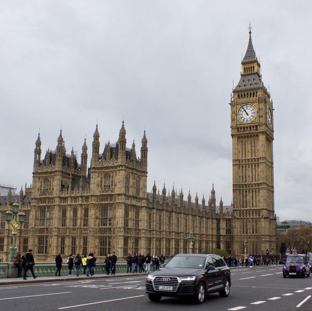 Westminster and Big Ben // London England // Samantha McNeil Blog
