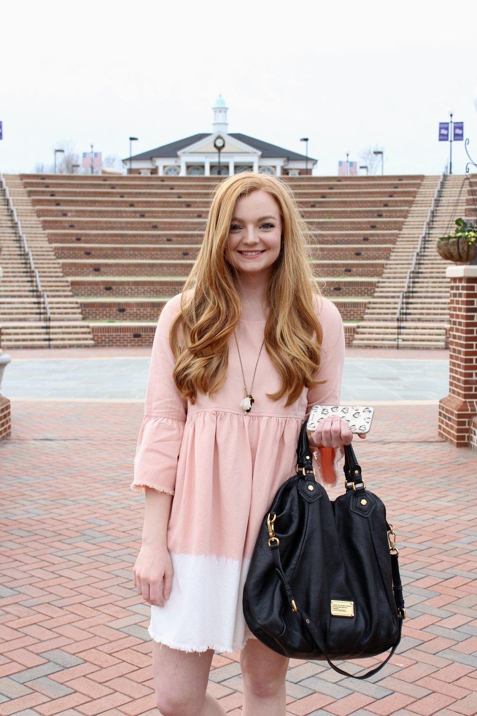 Samantha McNeil Blog // Bleach Dipped Dress