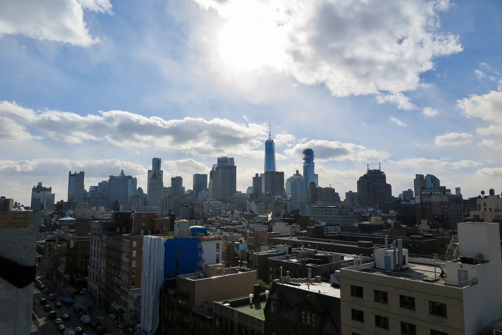 Samantha McNeil Blog // The New Museum Rooftop NYC