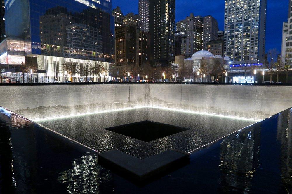 Samantha McNeil Blog // September 11 Reflecting Pools