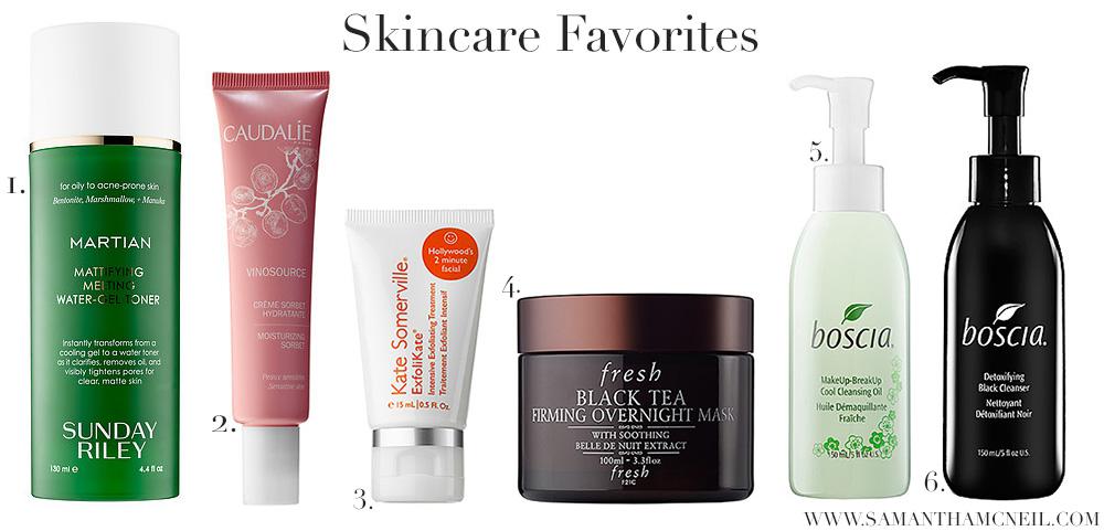 Samantha McNeil Blog // VIB Sale - Skincare Favorites