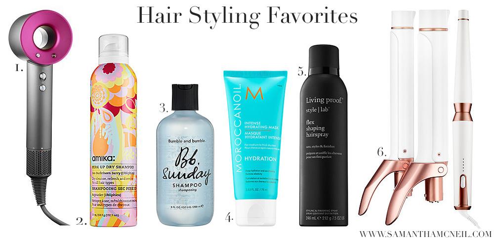 Samantha McNeil Blog // VIB Sale - Hair Favorites