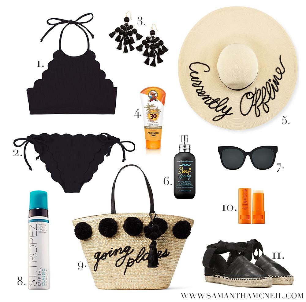 Samantha McNeil Blog // Summer Essentials