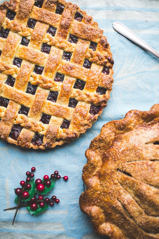 Cranberry Lattice Tart