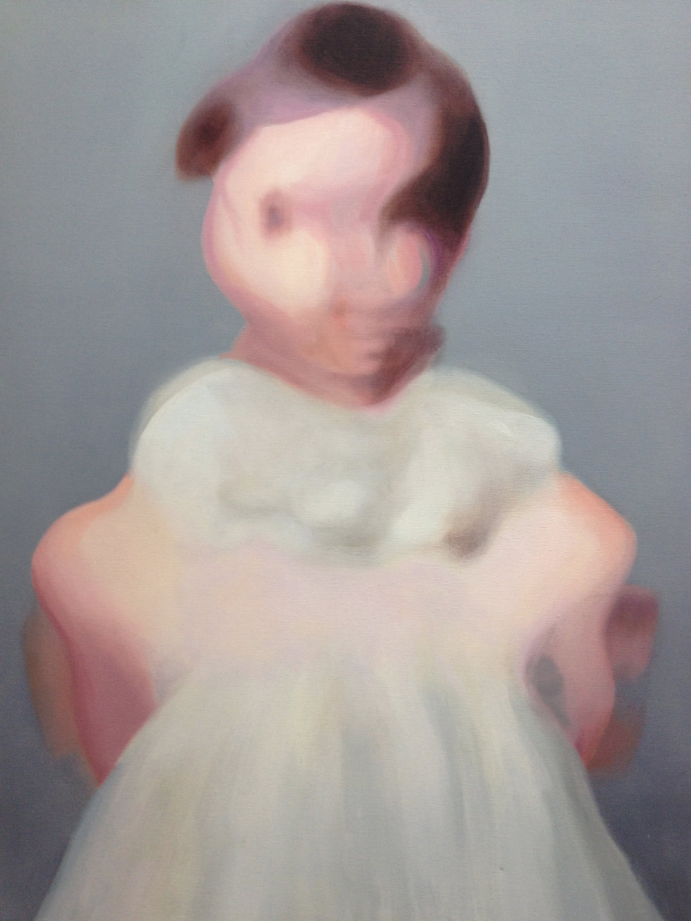 01.The Dress_Oil on canvas_2012_18x24,Nissenbaum.JPG