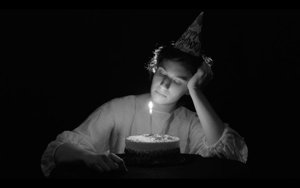 "Still from ""Birthday Suit,"" 2015, HDV, 7 min."