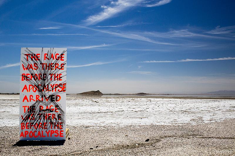 Treatise on Imaginary Explosions, vol. II,  2013 Production Still, Salton Sea, CA