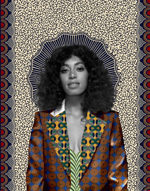 Solange (Don't Touch My Hair) 2016 Digital Collage 8x10
