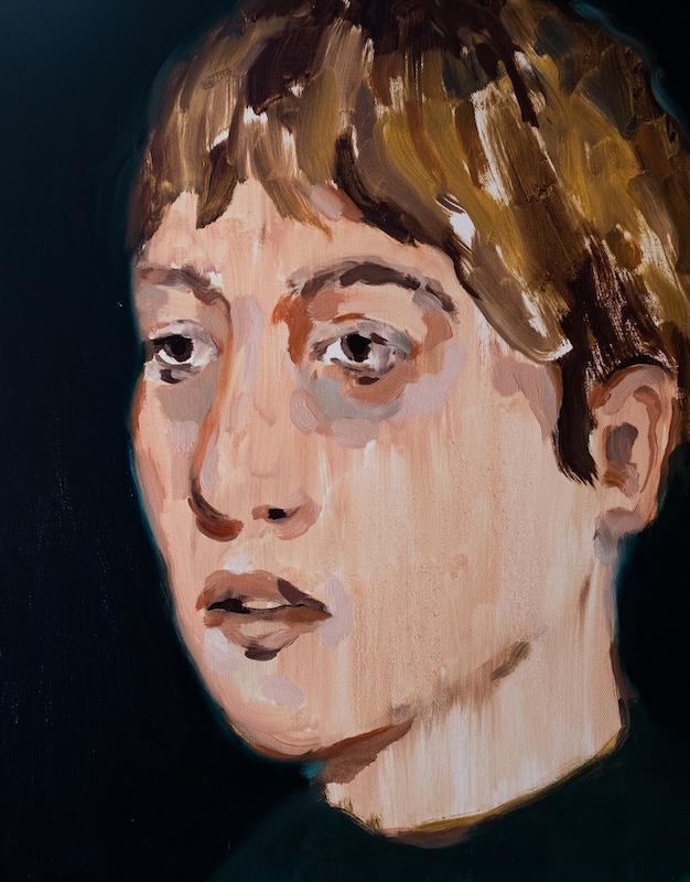 """Curfew, 2018, Oil on canvas, 16x20"""""""