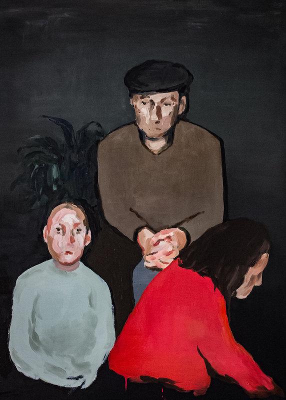 """Shepherd Moon, 2018, Oil on Canvas, 36x48"""""""