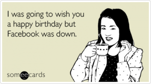 Facebook Birthdays