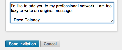 How to send an invitation on LinkedIn