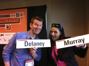 Dave Delaney and Jessica Murray