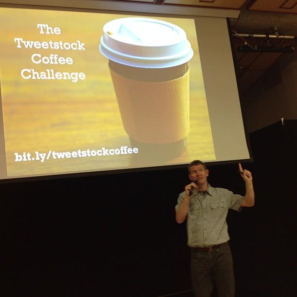 Tweetstock Coffee Challenge