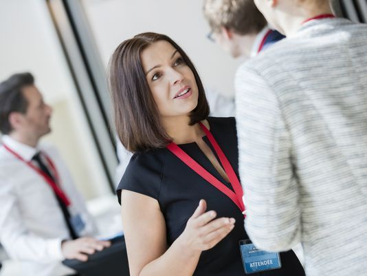 10 Must Know Conference Networking Tips.  Free download here .