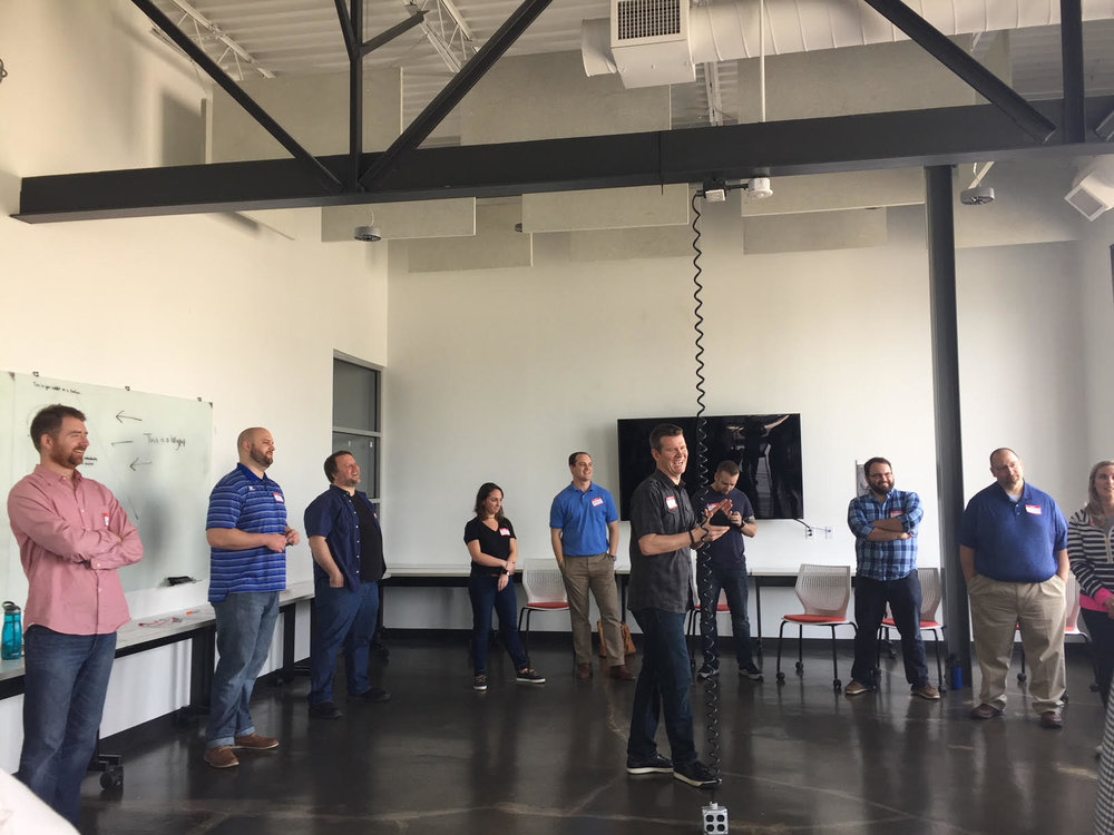 "We help smart companies improve communication and culture with improv - ""This event was super fun and allowed us to see team members personalities that we might not have known existed."""