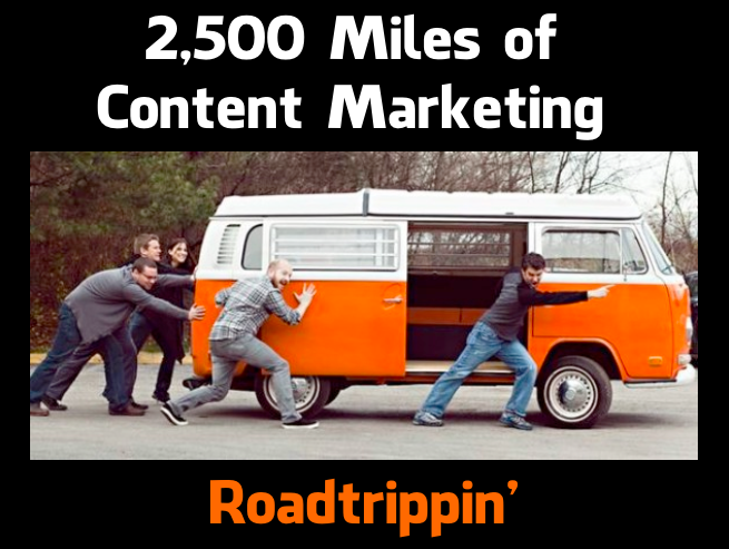 Content Marketing Presentation about road trips