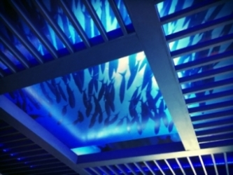 Restaurant Designers Underwater Ceiling Treatment