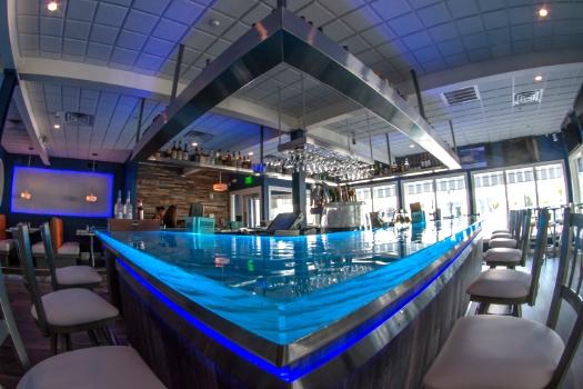 Restaurant Designers Water Glass Bar Top