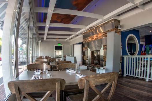 Restaurant Designer Sky Mural
