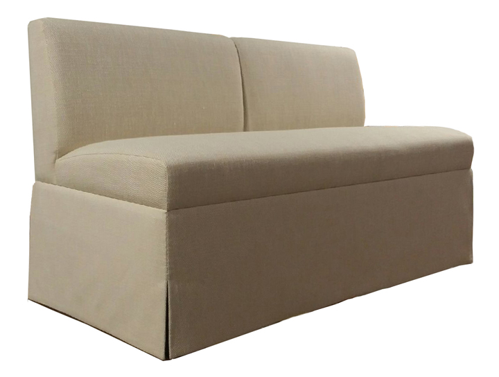 Conway Custom Banquette   Dimensions: W: 72″ D: 29″ H: 34″ Available in custom sizes & fabrics.
