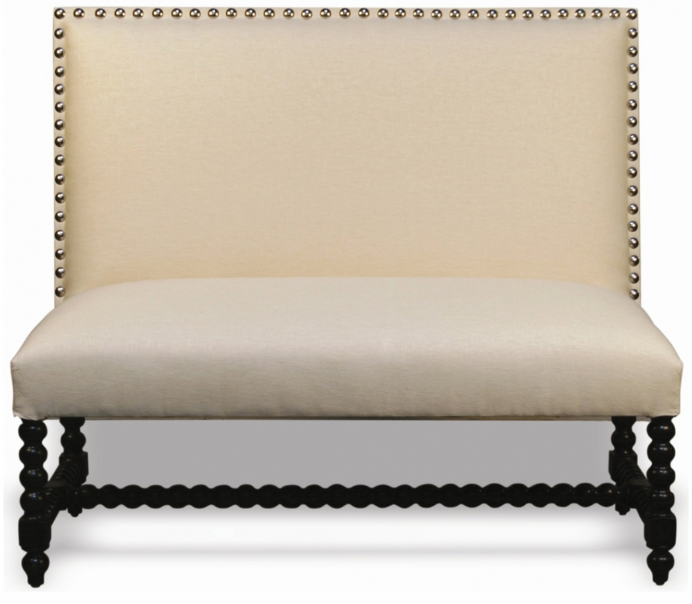 Cordoba Custom Banquette Dimensions: W: 50″ D: 23″ H: 44″ Available in custom sizes & fabrics. Add character to your restaurants atmosphere with these beautiful designer banquettes.