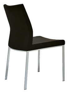 Capo Modern Chrome Restaurant Chair