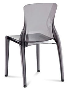 Phase Clear Modern Restaurant Chair