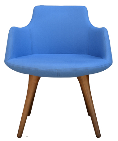 David Wood Modern Restaurant Chair