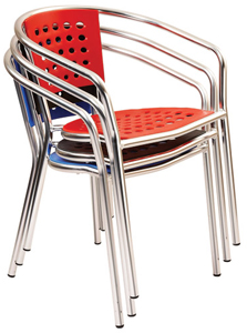 Wish Stackable Modern Restaurant Chair