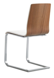 Lourdes Modern Sled Chair