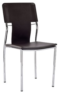 Zebra Modern Chrome Chair
