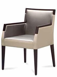 Maynard Upholstered Restaurant Armchair
