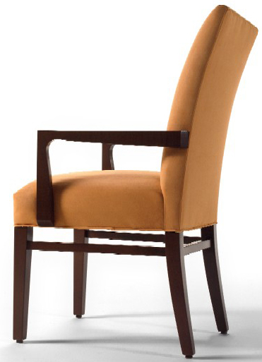 Kipling Upholstered Restaurant Arm Chair