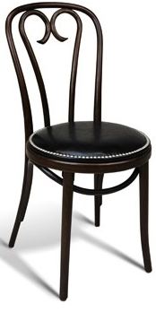 Interlock Upholstered Cafe Chair