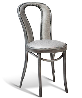 Interlace Padded-Back Cafe Chair