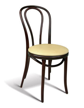 Interlace Padded Seat Cafe Chair