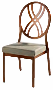 Ashford Metal Banquette Chair